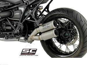 SC-Project Dual CRT Exhaust 14-17 BMW R NineT R9T